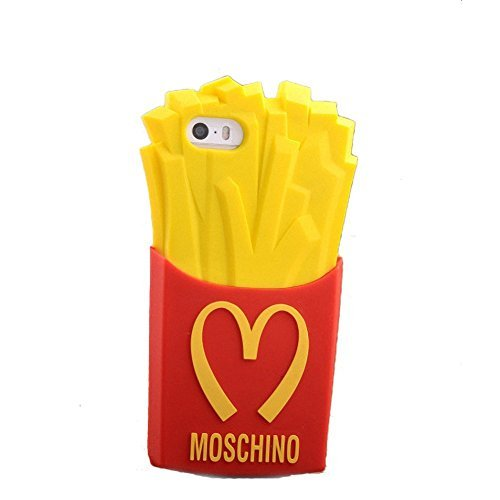 Cute Soft 3d Phone Cases Funny M French Fries Chips Silicone Case for Iphone 6 / 6s 4.7 '' Inch (Iphone 5s French Fries 3d Cases compare prices)