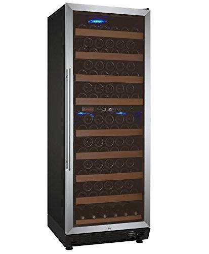 Discover Bargain Allavino YHWR99-2SRN 99 Bottle Dual-Zone Wine Cellar Refrigerator - Stainless Door