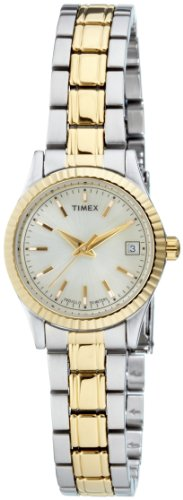 Timex Women's T2M559 R-Series Classic Two-Tone Bracelet Dress Watch