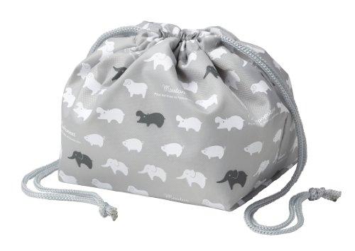 トルネ 保冷バッグ お弁当袋 きんちゃく アニマル 約16×26×12cm