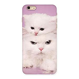 Cute Kitty Family Back Case Cover for iPhone 6 Plus 6S Plus