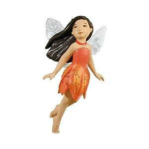 Hallmark Keepsaskes Hallmark Christmas Keepsake - Fairy Messenger #8 - Tiger Lily Fairy - Tree Ornament