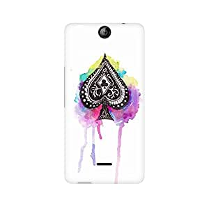 Mobicture Cards Premium Printed Case For Micromax Canvas Juice 3 Q392