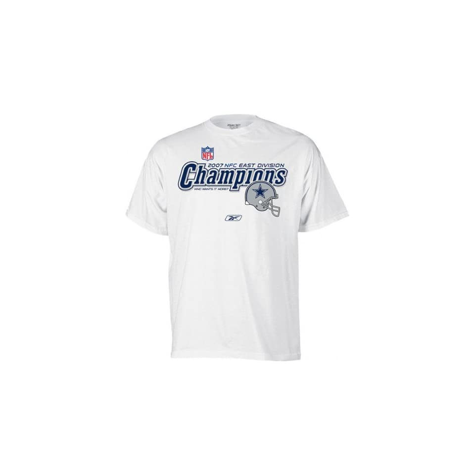 c2b93a27f Dallas Cowboys 2007 NFC East Division Champs Locker Room T on PopScreen