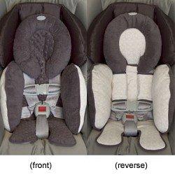 JJ Cole Infant Body Support Graphite