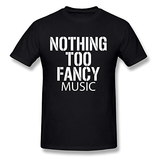 ZULA Men's T Shirt Nothing Too Fancy Umphrey's McGee Rock Music Black Size L (Umphreys Mcgee Tickets compare prices)