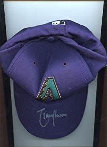 2001 Randy Johnson Arizona Diamondbacks Autographed All Star Cap LOA - Autographed... by Sports+Memorabilia