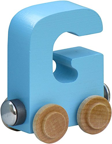 NameTrain Pastel Finish Letter Cars - G