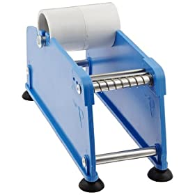 "Nifty Products DLC2 Plastic Tabletop Manual Label Dispenser, 2"" Width"
