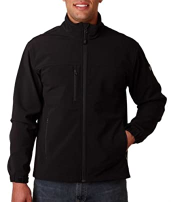 5350 Dri-Duck Adult Motion Soft-Shell Jacket - Black - S by DRI Duck