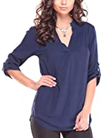 Laura Bettini Blusa (Azul Marino)