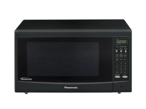PANASONIC CONSUMER PAN NN-SN667B MICROWAVE OVEN 1.2 CU. FT. 4-Digit Display 10 Levels 5 Stages