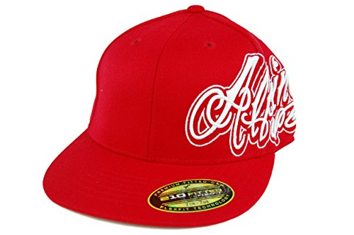 Alpinestars Men's Zoned Classic 210 Fitted Hat Motorcross Baseball Cap, L/XL (Red)