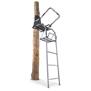 Buy Guide Gear 16' Deluxe Ladder Stand by Guide Gear
