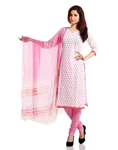 Pinkshink Womens Cotton Unstitched Dress Material (Psk31 ...