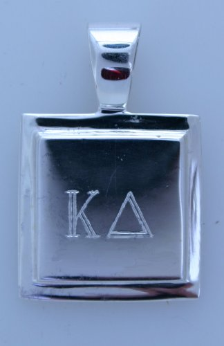 Kappa Delta - Square Pendent