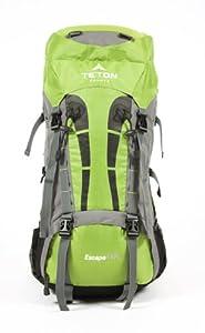 """TETON Sports Escape4300 Ultralight Internal Frame Backpack (33""""x 17""""x 12"""", Light Green)"""