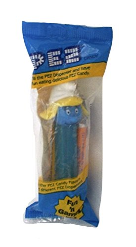 Smurf Pez Dispenser Smurfette Factory Sealed (Pez Dispensers Smurfs compare prices)