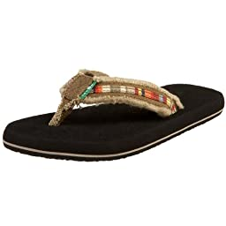 Sanuk Fraid O\' Me Flip Flop (Toddler/Little Kid/Big Kid),Multi,X-Small (US Toddler 8-9 M)