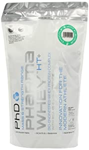PhD Pharma Chocolate Mint Flavoured Whey Eco Pouch Protein Powder 908g
