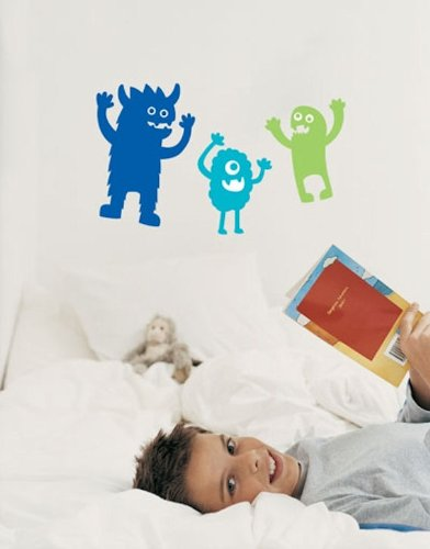 monster wall decals