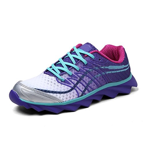 Aleader Women's Running Shoes Fashion Walking Sneakers Purple 8.5 D(M) US