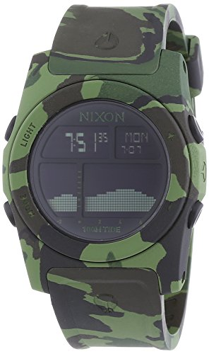 Nixon  - Reloj Digital de Cuarzo unisex, correa de Plástico color Multicolor