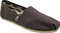 Toms Womens Classics Slip Ons Ash Canvas Womens 7.5