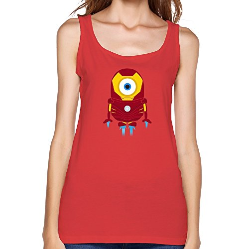Huaxian Personalized Minions Iron Man Top For Womens