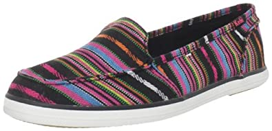 Keds Women's Surfer Blanket Slip-On,Black,5 M US