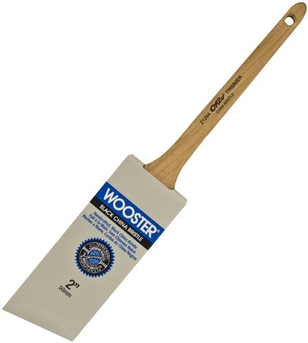 Wooster Brush Z1294-2 Ohio Trimmer Thin Angle Sash Paintbrush, 2-Inch