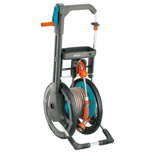 gardena 164foot capacity garden hose reel cart with 65foot 1
