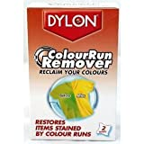 Dylon Colour Run Remover, laundry, 2 sachets