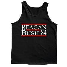 Reagan Bush 84 Vintage Design Tank Top