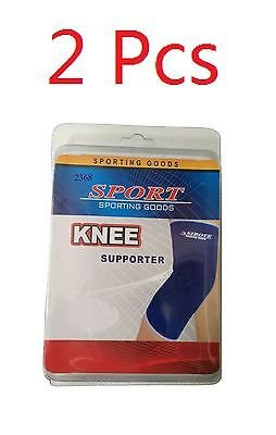 2 KNEE Elastic Brace Muscle Support Arthritis Sports Pain Relief (Thor Muscle Toddler Costume)