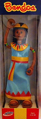 "Bendos ""Cleo"" the Egyptian Princess 5.5"" Bendable Action Figure (2001)"
