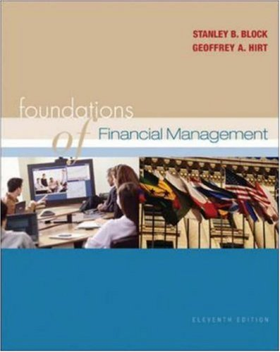 Foundations of Financial Management 11/e + Self-Study CD + Standard & Poors Educational Version of Market Insight + OLC with PowerWeb