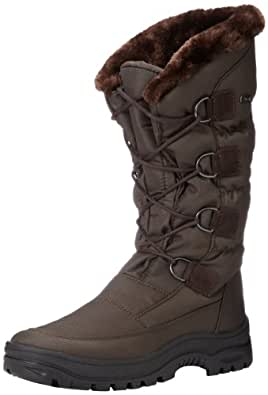 Amazon.com: Pajar Women's Riga Boot,Brown,37 EU/6-6.5 M US
