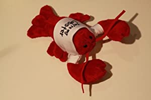 You're My Lobster Plush Stuffed Animal Toy- White shirt