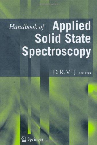 Handbook Of Applied Solid State Spectroscopy