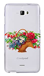 WOW Transparent Printed Back Cover Case For Coolpad Dazen 1
