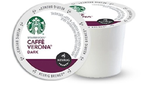 Starbucks Caffe Verona, Dark, K-Cup Portion Pack For Keurig K-Cup Brewers, 96 Count Size: 96 Count Home & Kitchen front-500603