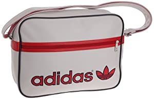 Adidas Adicolor Airline Bag Tasche white vapour-vivid red - NS