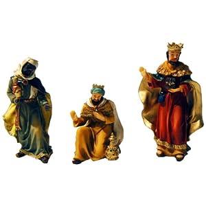 Brauns heitmann 84604 figuras los reyes magos para el for Amazon figuras belen