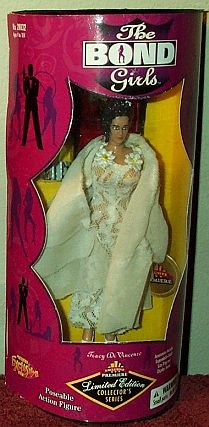 The Bond Girls - Exclusive Premiere - Tracy Di Vincenzo Action Figure - Diana Rigg - On Her Majesty's Secret Service - George Lazenby - w/ Accessories - Out of Production - Limited Edition - Collectible - 1