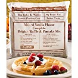 Heartland Malted Vanilla Belgian Waffle - All In One, Complete Mix - 80 Ounce Bag (Pack of 1) 5 lbs.