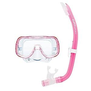TUSA Sport Reise Schnorchelset Mini-Kleio Kinder Set - Pack de snorkel