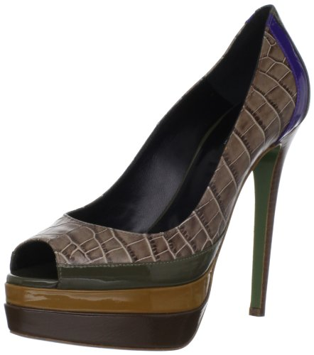 Ruthie Davis Women's Popsicle Peep-Toe Pump