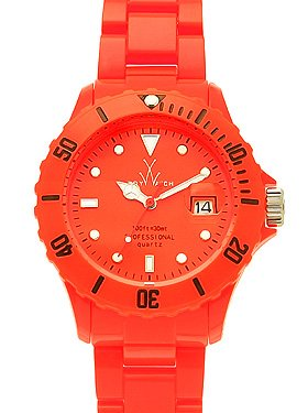 Neon Plasteramic Watch Collection - Atomic Orange