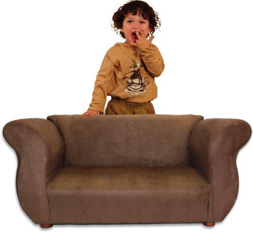 picture Fantasy Furniture Fancy Sofa, Brown